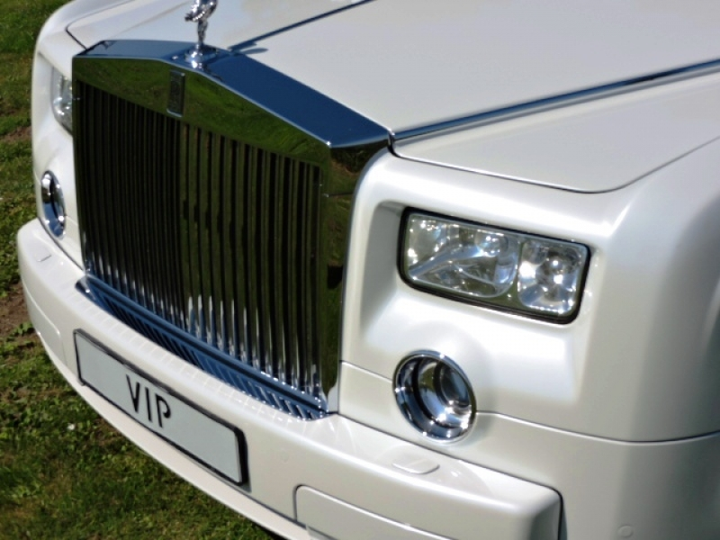 RR Phantom wit (interieur beige)